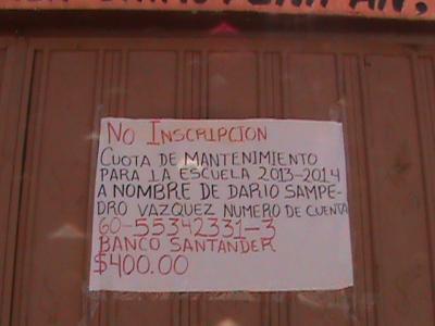 DENUNCIA AL TITULAR DE LA SEPE DR. TOMÁS MUNIVE OSORNO